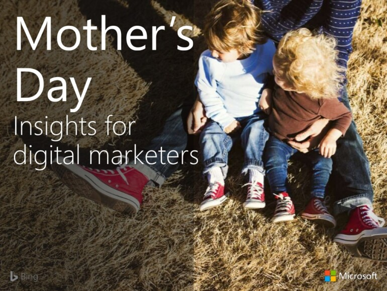 Digital marketing guide to mothers day