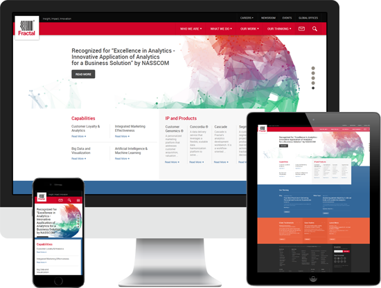 FRACTAL ANALYTICS GOT A RESPONSIVE WEB DESIGN